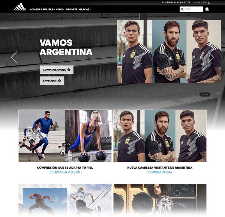 9daf5d0546c68 Tienda online adidas Argentina