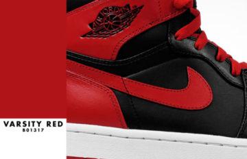 "Air Jordan 1 ""Varsity Red/Black"""