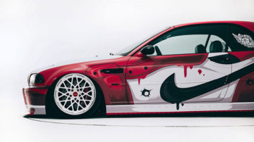 "Air Jordan 1 ""Chicago"" BMW"