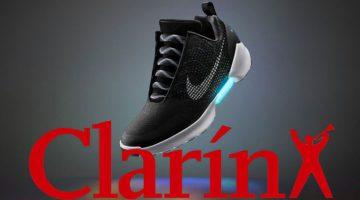 Zapatillas del futuro: livianas, sin cordones y que se atan solas (Clarín)