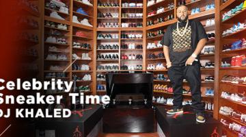 Celebrity Sneaker Time x Dj Khaled