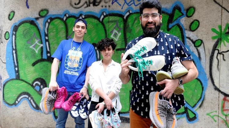 Fanáticos de las zapatillas en Argentina