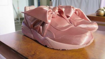 Bow Sneakers - Puma Fenty by Rihanna - BAF Week 2017