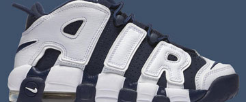 Historia de las Nike Air More Uptempo