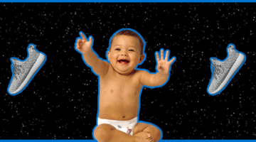 Adidas Yeezy Boost 350 para bebes