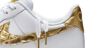 "Nike Air Force 1 CR7 ""Golden Patchwork"" de Cristiano Ronaldo en Argentina"
