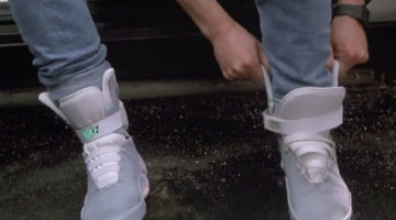 ¿Nike lanzará cordones que se atan solos?