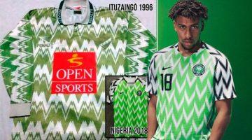 Nike y Nigeria le copiaron la camiseta a un equipo Argentino