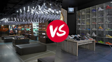 Grandes tiendas vs. pequeñas tiendas