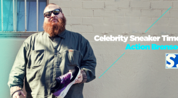Celebrity Sneaker Time! x Action Bronson