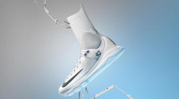 Nike aplica una media de compresión en las KD8