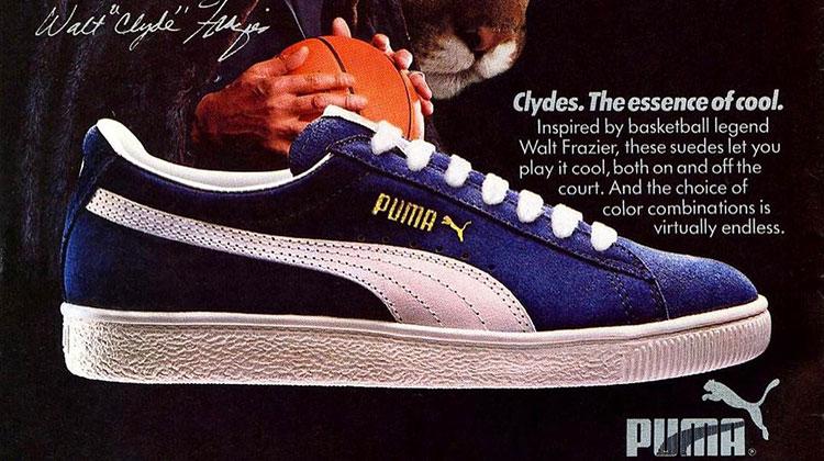 PUMA Basketball - PUMA Clyde anuncio original vintage
