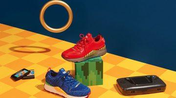 PUMA presenta su colección junto a SEGA y Sonic en Argentina