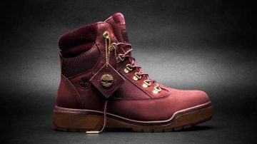 Timberland Volume IX, a 6-Inch Port Field Boot with a velvet collar.